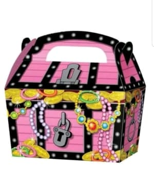 Pink Treasure Picnic Box
