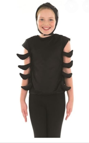 Spider ( Tunic With Legs & Head Piece)