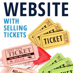 Website With Ticket/events�system