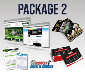 New Business Start Up - Website, Design & Print Package 2