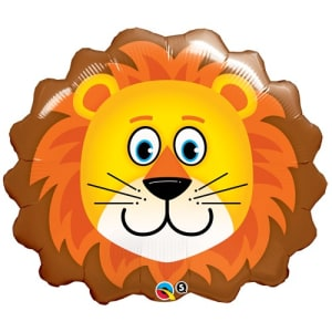 Loveable Lion Supershape Balloon - 29inch Foil