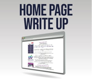 Seo Home Page Content Write Up