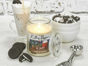 Lilly Lane Cookies And Cream 18oz Candle