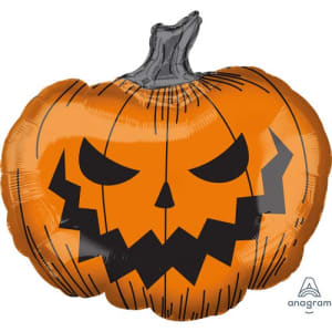 Creepy Pumpkin 29inch Supershape Balloon