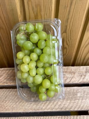 Punnet Of Seedless Green Grapes