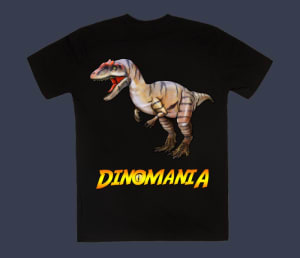 Dinomania Little Al The Allosaurus