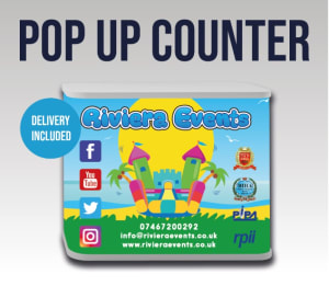 Pop Up Counter Stand