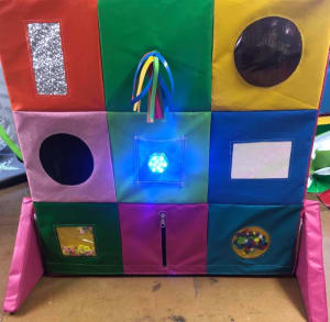 Sensory Tactile Play Board