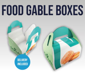 Food Gable Boxes