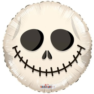 Skull Face Balloon 18 Inch
