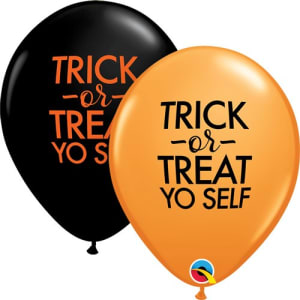 Trick Or Treat 11inch Latex Balloons Pk25