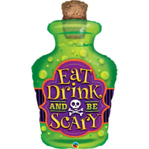 Eat Drink Be Scary 40inch Supershape Balloon