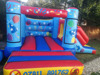 Party Time Castle With Slide