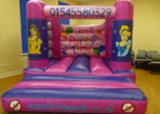 Pink Disney Princess Bouncy Castle