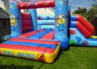 Minion Castle With Slide