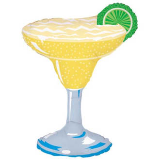 36 Inch Margarita Glass Foil Balloon