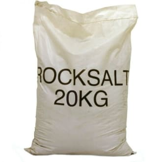 White Rock Salt 20mm 20kg Bags