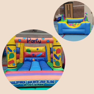 Bouncy Castle And Ball Pool 5