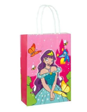 Pre-filled Colouring Paper Party Bags