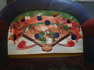 Baseball Inflatable Game