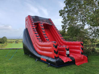 Red And Black Slide