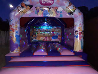 Disco Princess Castle With Music And Disco Light