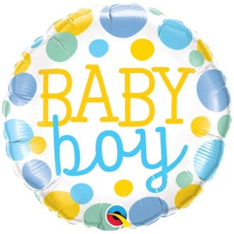 Baby Boy 18 Inch Balloon