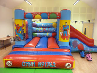 Heroes Castle With Slide