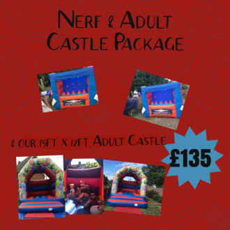 Nerf & Adult Castle Package