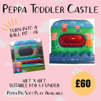 Peppa Toddler Castle