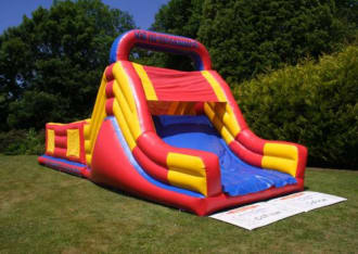 Obstacle Course And Slide