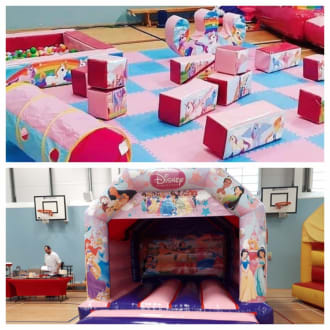 Princess Castle With Unicorn Soft Play