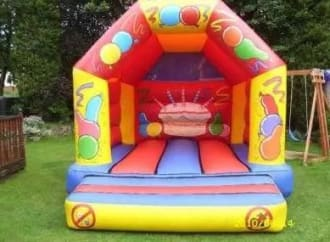 12x14ft Bouncy Castle And Portable Dj Kit