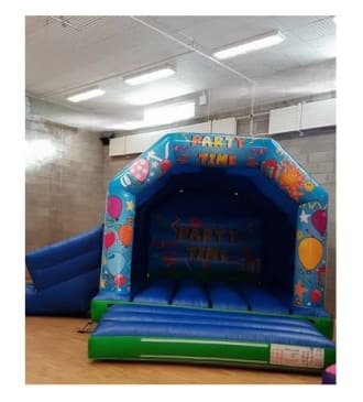 Party Time Castle & Slide Combo