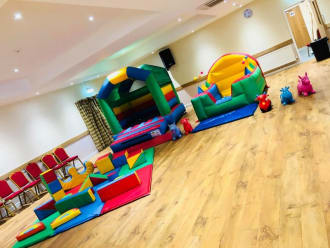 Multicolour Package Castle Is 8ft In Height - Indoor Hire Only