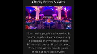 Charity Events & Galas