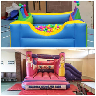 Bouncy Castle And Ball Pool 4