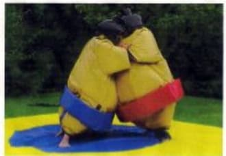 Adult & Childs Sumo Suits