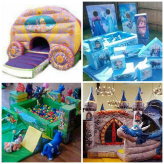 Large Castle And Soft Play