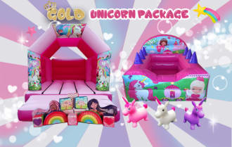 Gold Unicorn Package