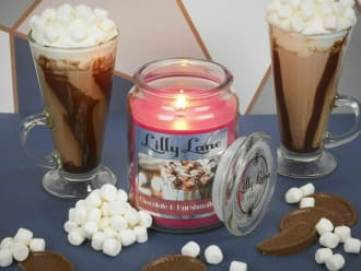 Lilly Lane Chocolate & Marshmallows 18oz Candle