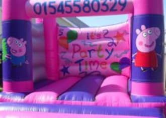 Pink Peppa Pig Bouncy Castle