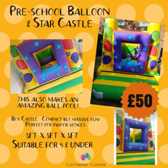 Pre-school Balloon & Star Castle
