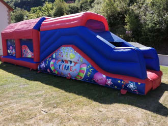 Party Time Assault Course The Big Boy 38ft