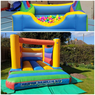 Bouncy Castle And Ball Pool