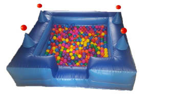 Inflatable Ball Pool 6x6 With Air Jugglers ( Add - On Only )