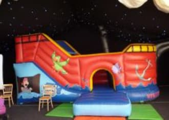 Pirate Ship Castle With Slide