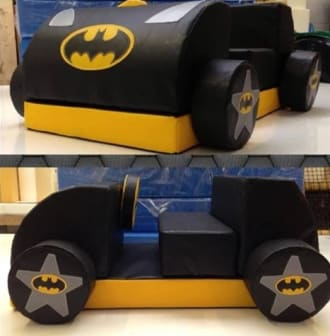 Bat Mobile Soft Play