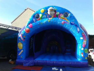 16ft X 14ft Disco Bounce N Slide