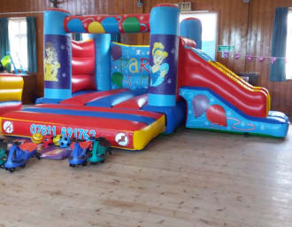 Princess Castle With Slide